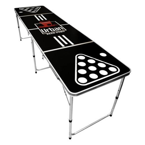 Beer Pong Tisch mit Kühlfach Eisfach